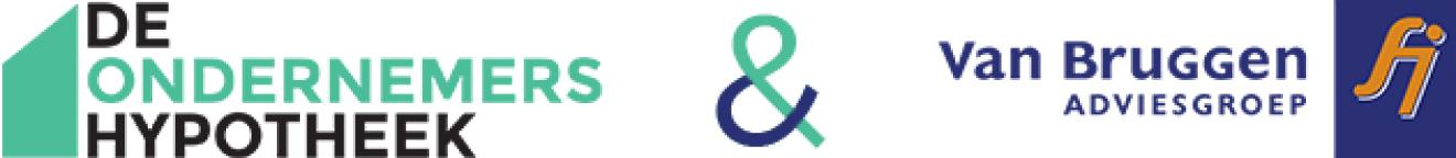 Logo de Ondernemershypotheek en van Bruggen